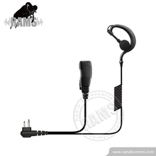 RayTalk Two Way Radio 핸드셋 3.5mm G-형 헤드폰 Earphone Mic tk-t89 와 Applicable 대 한 보풍 무 토키 EM-2027C
