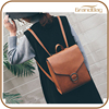 new style fashion pu leather backpack college bags high class student school bag