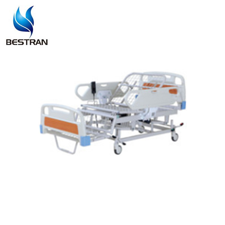 China BT-AE107 Hospital 3 function electric patient bed, cama clinica with chair position