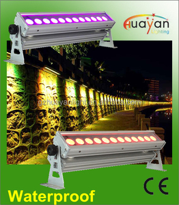 9x 12w RGBWA UV Christmas Outdoor LED Wall Washers