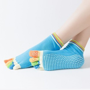 86ad393adb1 Yoga Socks Exercise Sports Non-slip Sock Toe Five Fingers Girl Female Women  Ladies Barre Ballet socks