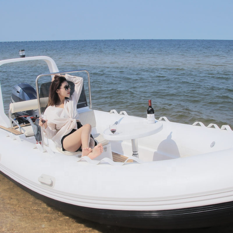 China inflatable <strong>boat</strong> rib fiberglass <strong>boat</strong> hypalon