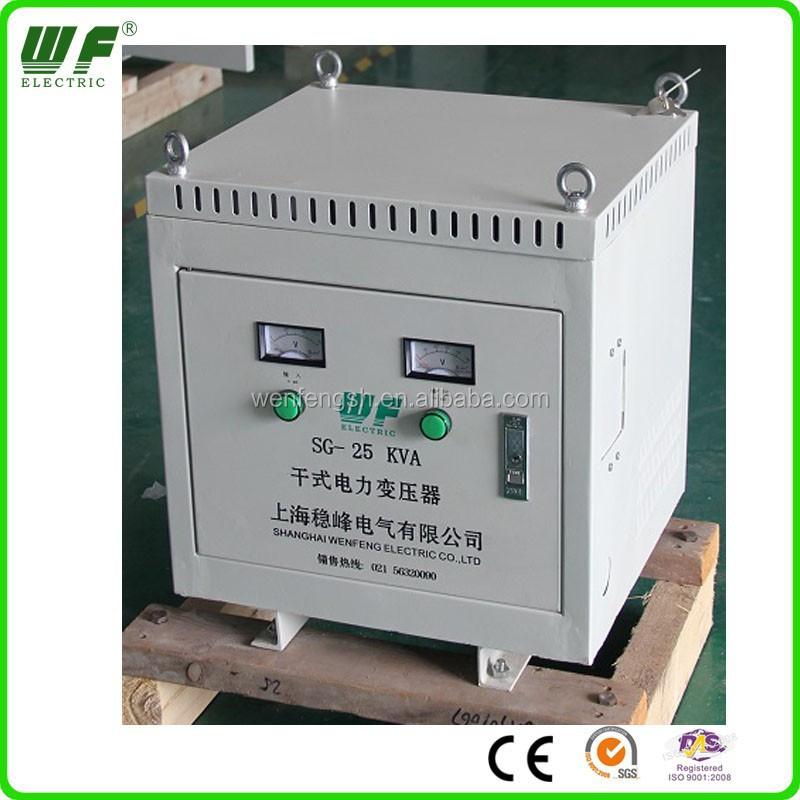 220 Volt To 415 Volt 25 Kva Transformer