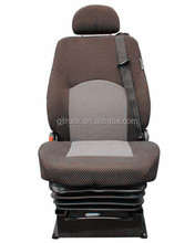 2018 Comfortabele Schorsing Heavy Duty Truck Driver Seat/Heavy Truck Seat met Luchtvering Base/luchtvering truck seat