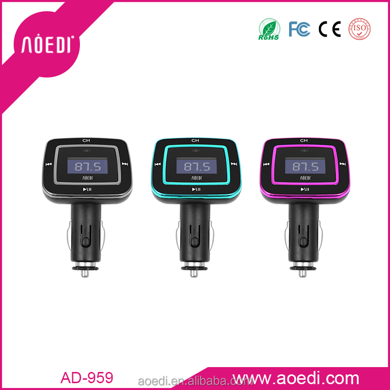 car mp3 with usb /car fm transmitter with usb flash with line-in fuction ,OEM/ ODM order accept AD-959