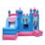 Many lanes full size bounce castle inflatable house