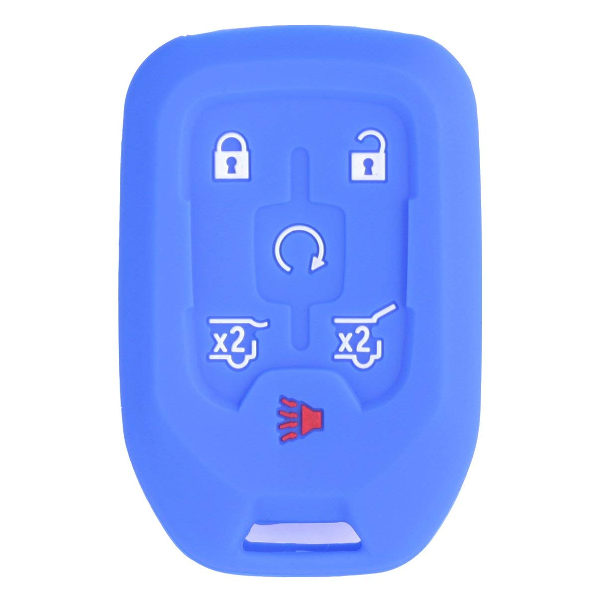 Get Quotations Werfdsr Sillicone Key Fob Skin Cover Keyless Entry Remote Case Protector Shell For 2017 2016