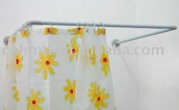 Ba o accesorio en forma de u de aluminio barra de la - Barras cortina bano ...