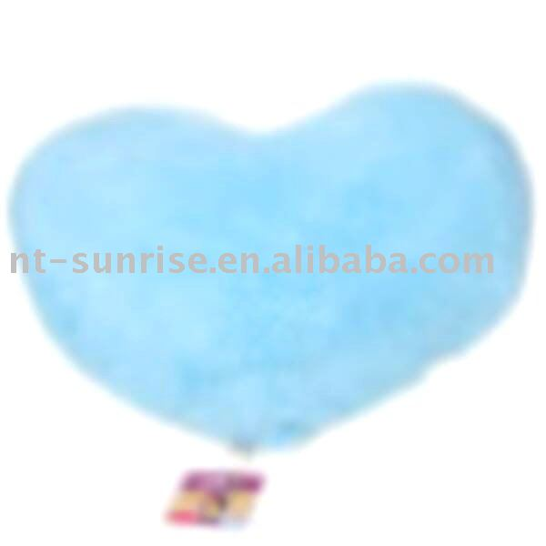 Good for gift heart shape plush cushion