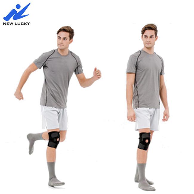 Neoprene Knee Support Brace with Open Patella - Adjustable & Anti Slip, Customized