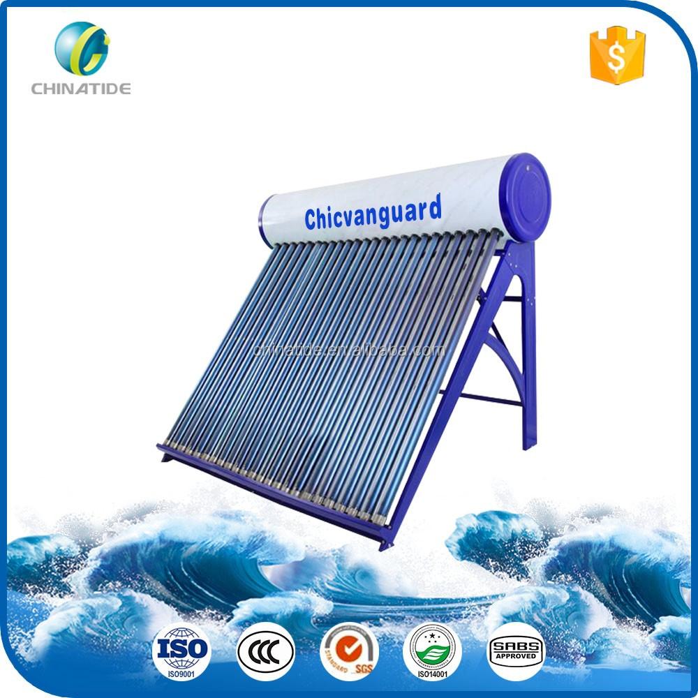 Interno de baja presi n del sistema de agua caliente solar - Agua caliente solar ...