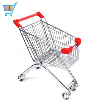 Wholesale Push Cart Trolley Germany Steel Kids Supermarket Desk