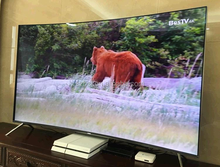 Free shipping original new 4k smart 3d led tv 55''/65''/75''/85''inch UN55KS9000FXZA Class KS9000 9-Series 4K Suhd TV 2016 model