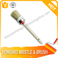 natural bristle make new round brush Manufacturers