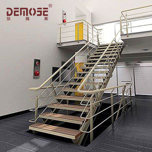 Beau Wood Composite Deck Stairs/collapsible Stairs