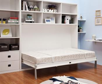 Cina brevettato da parete pieghevole letto letto a muro nascosta