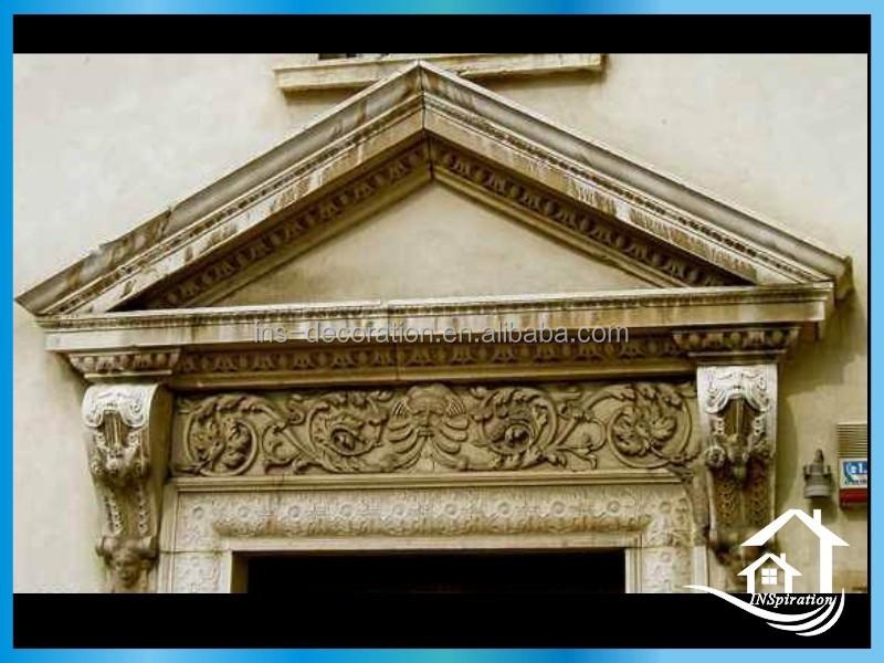 Architectural Cast Stone Decorative Cornice