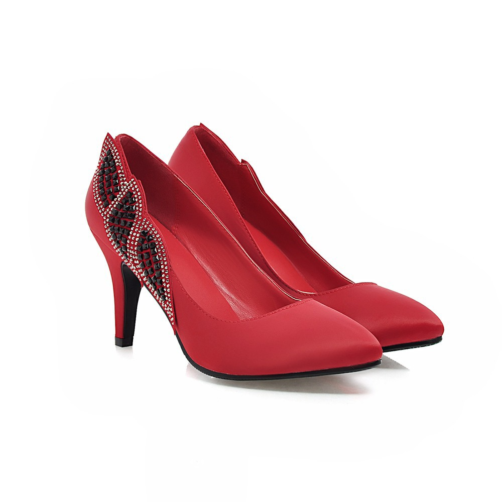 Women S Shoes Red Pumps