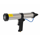 300ml pneumatic sausage caulking gun for AB epoxy In construction