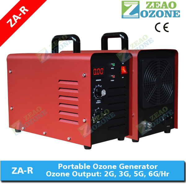 portable ozone O3 generator/ ozonator/ ozonizer for <strong>water</strong> <strong>treatment</strong> 3g/h