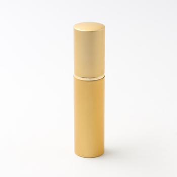 10ml matte gold perfume refillable atomizer stocks, different color glass spray bottle