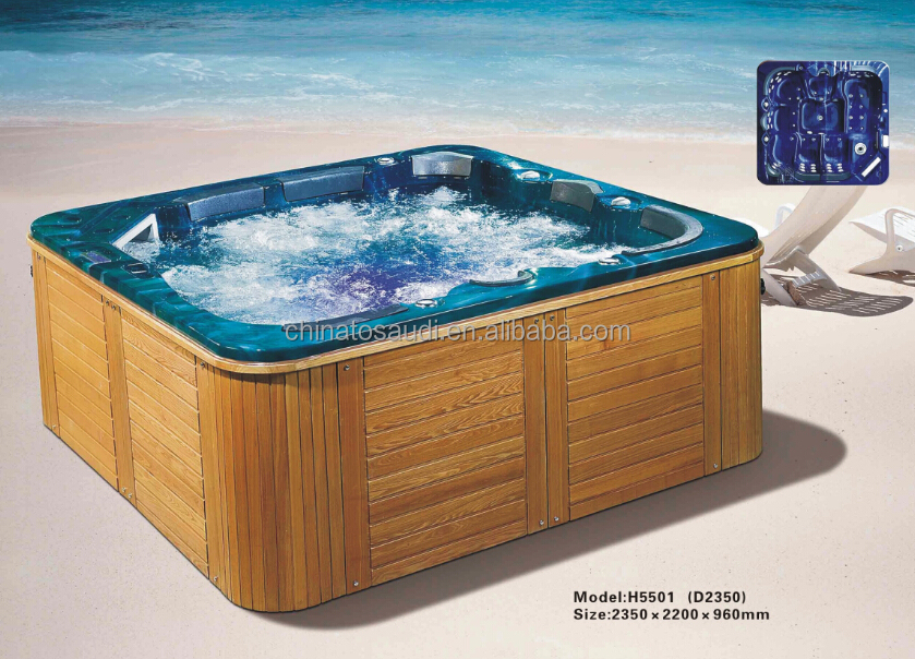 simple built in cast iron bathtub / common bath tub / cheap soaking tubs design