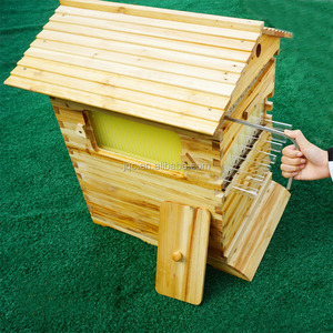 Automatic bee hive for the honey in bulk flow beehive /beehive langstroth box/hive bee box