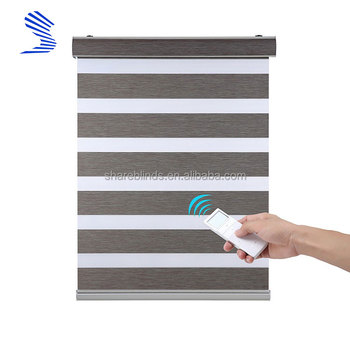 Fire Sale Custom Made Motorized Window Treatments Remote Controlled Roller Shade