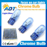 T10 194 W5W 147 Chrome Glass halogen bulb for VW golf4