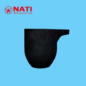 NATI Isopressing Graphite Crucible for Melting Aluminium