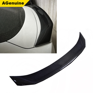 Best price Karztec full carbon fiber car rear boot lip wing trunk lip spoiler for Audi A7 S7 Sline