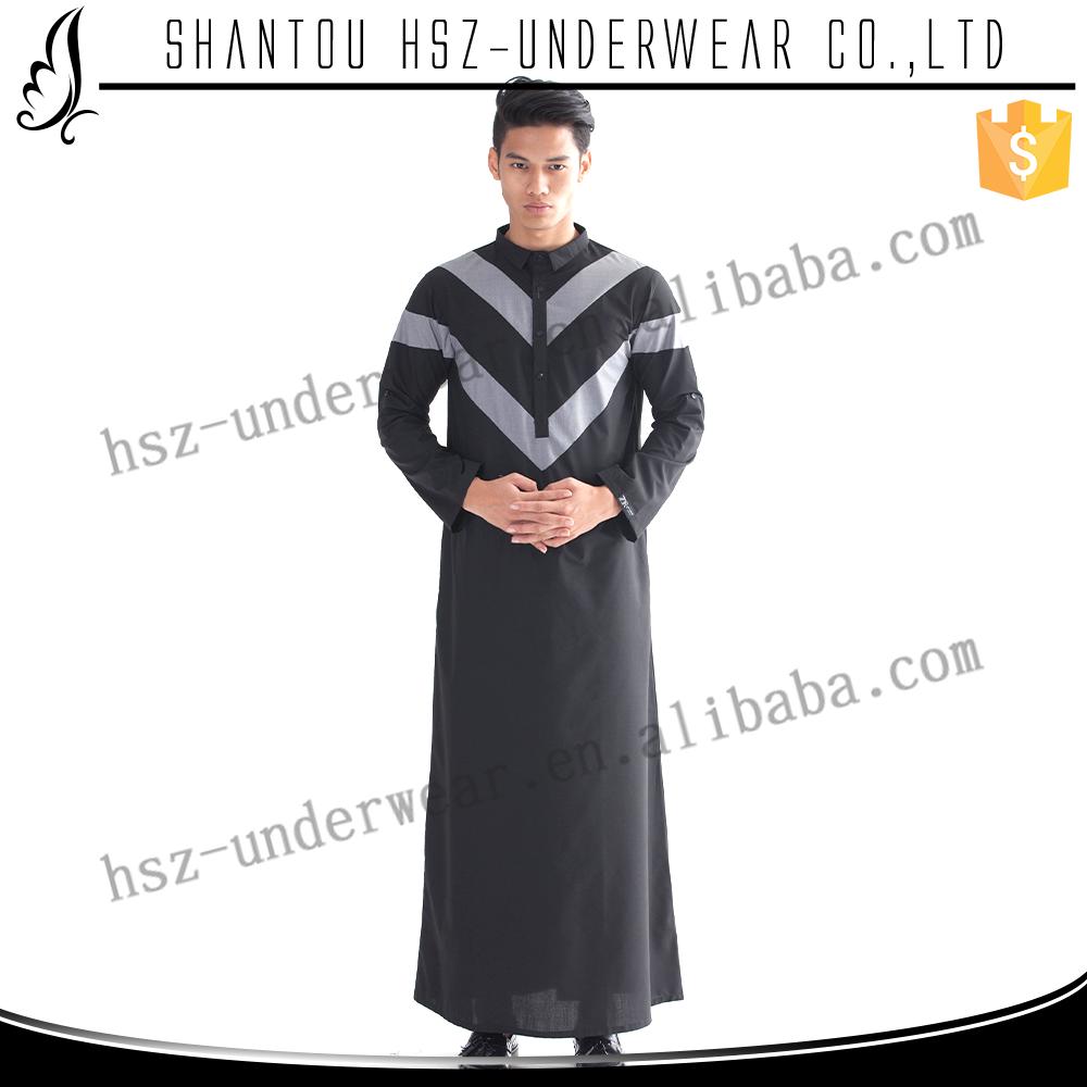 M002 Latest Muslim Dress Men High Quantity Muslim Men Dress ...
