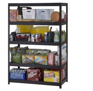 Metal Heavy Duty Industrial Commercial Garage Shop Storage Shelving Unit