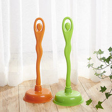 HQ3020 factory PVC quality lady design handle toilet plunger