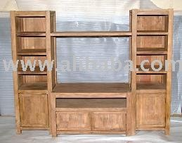Wooden T.v.unit