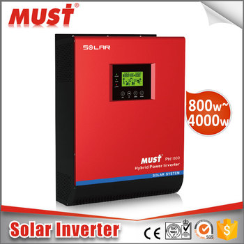 MUST band hybrid grid solar inverter off