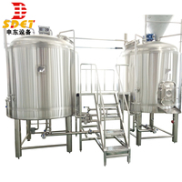 Commercial micro 1000L craft beer brew pub production line