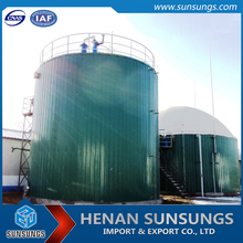 50-10000 Cubic Meter Anaerobic Digester Biogas Storage Tower