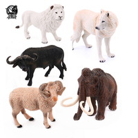 Plastic wild kudu spider toucan mammoth parrot gazelle wolf buffalo other toy animal