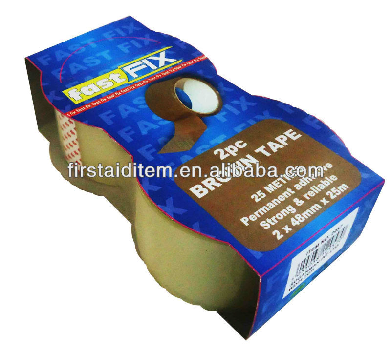 good adhesive opp packing tape 2PK