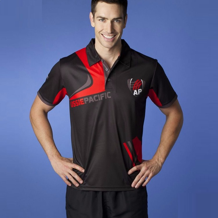 New arrival sublimated dry fit polo shirt mens polo shirt wholesale china