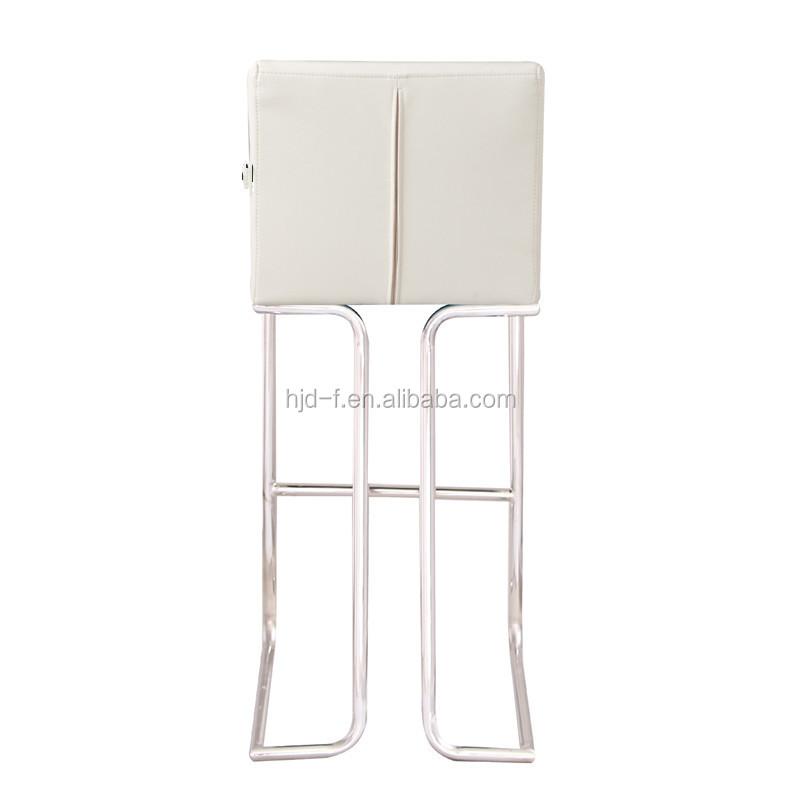 Marco de acero silla alta, tubo de acero inoxidable paso silla color ...
