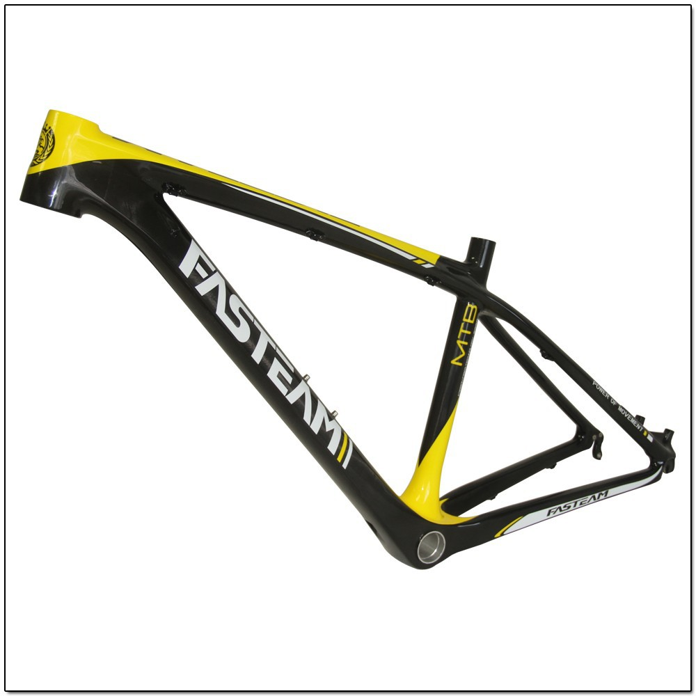 Dashine New Carbon 26ER MTB Bike Frame, 26 mountain carbon frame,14''/16'' available discount price selling!