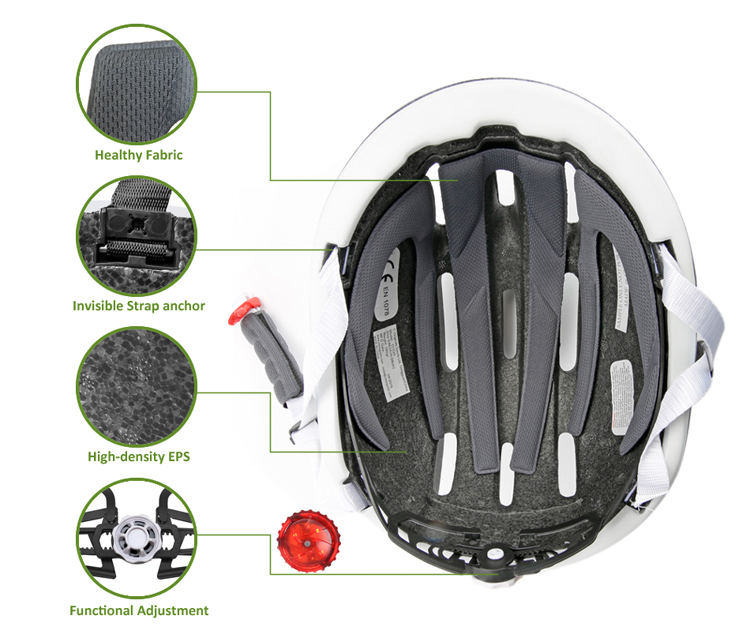 Electric Bike Helmet AU-BH13 Details 9