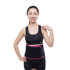 Band Sweat Trainer Back Support Belly Stomach Neoprene Waist Trimmer Slimming Belt