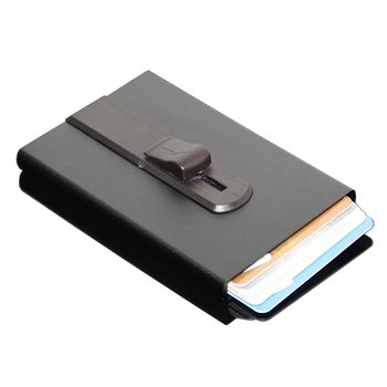 Mini gifts automatic pop up business card holder aluminum metal mini gifts automatic pop up business card holder aluminum metal pocket black rfid vertical credit card colourmoves