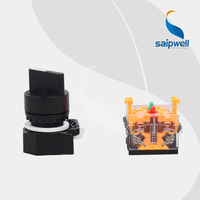 Saipwell High Quality two three position turn button micro push button switch with CE Certificated