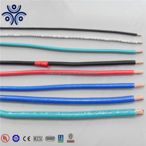 UL standard 10/12/14 AWG stranded copper condutor cable thhn/thhn wire specification
