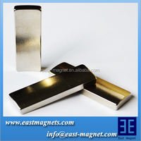 Ni coated segment design electric motor neodymium magnet