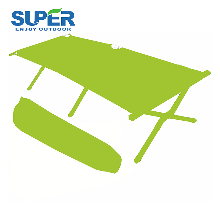 Strong metal folding camping bed,folding cot for outdoor.